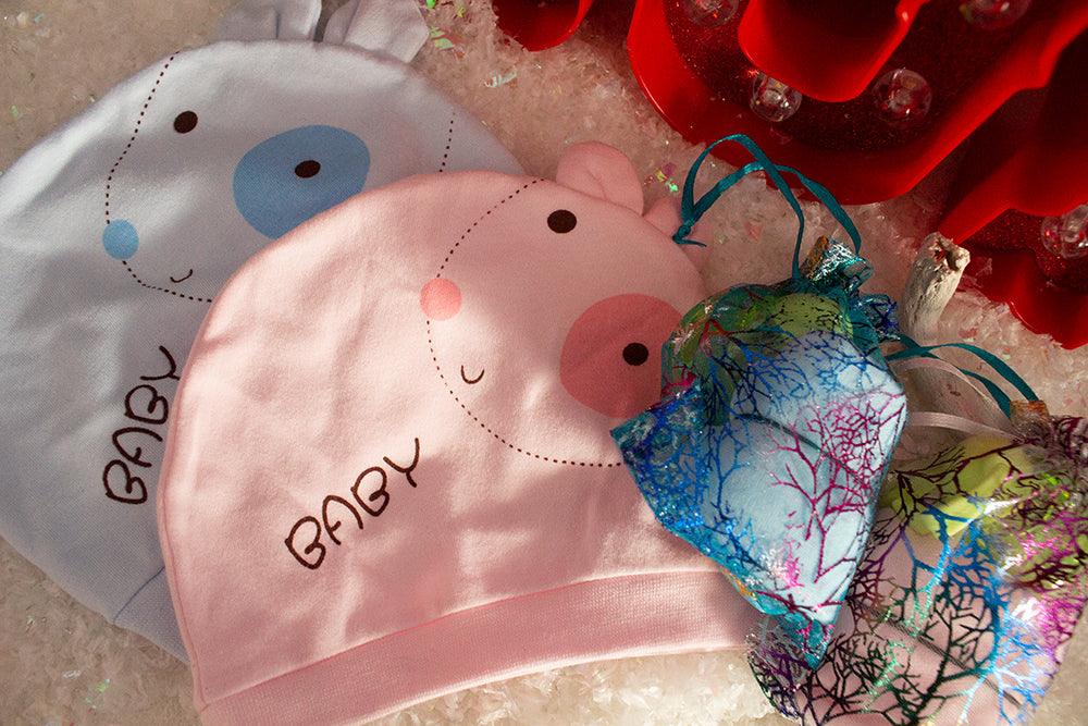 Newborn Baby puppy hat set
