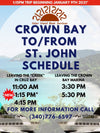 Crown Bay (One Luggage Tag must also be purchased per bag) Event Event