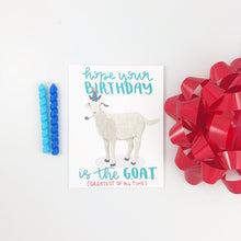 Load image into Gallery viewer, GOAT BIRTHDAY