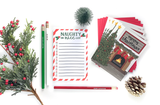 NAUGHTY OR NICE LIST NOTEPAD