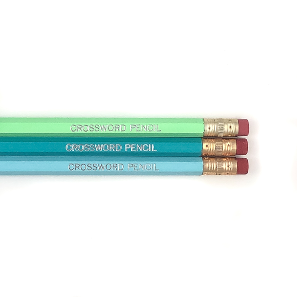 CROSSWORD PENCIL PENCIL SET