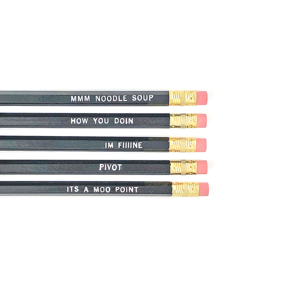 FRIENDS PENCIL SET