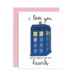 TWO HEARTS POLICE BOX