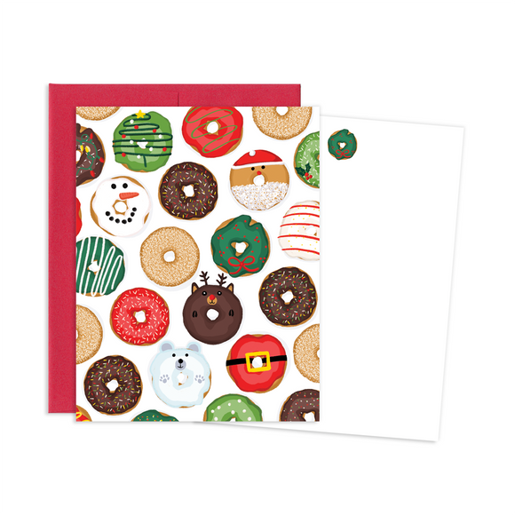 HOLIDAY DONUTS  NOTE CARDS