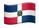 La Republica Dominicana Flag