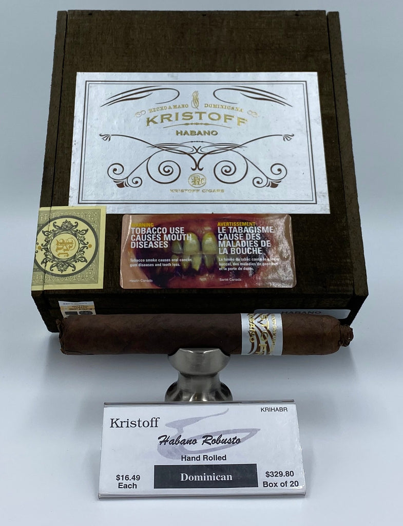 Kristoff Habano Robusto - The Smokin' Cigar Inc. Kristoff Cigar