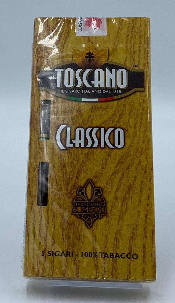 Toscano Classico Package of 5... SAVE 10% - The Smokin' Cigar Inc. Toscano Cigar
