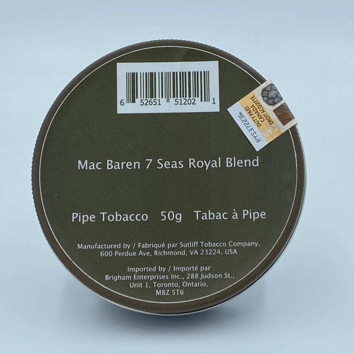 Mac Baren 7 Seas Royal Blend 50g Pipe Tobacco