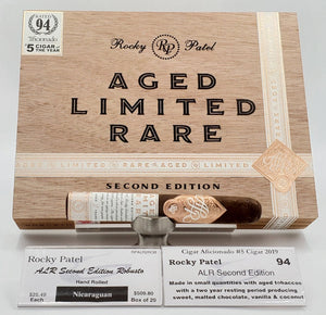 Rocky Patel Aged Limited Rare Second Edition Robusto