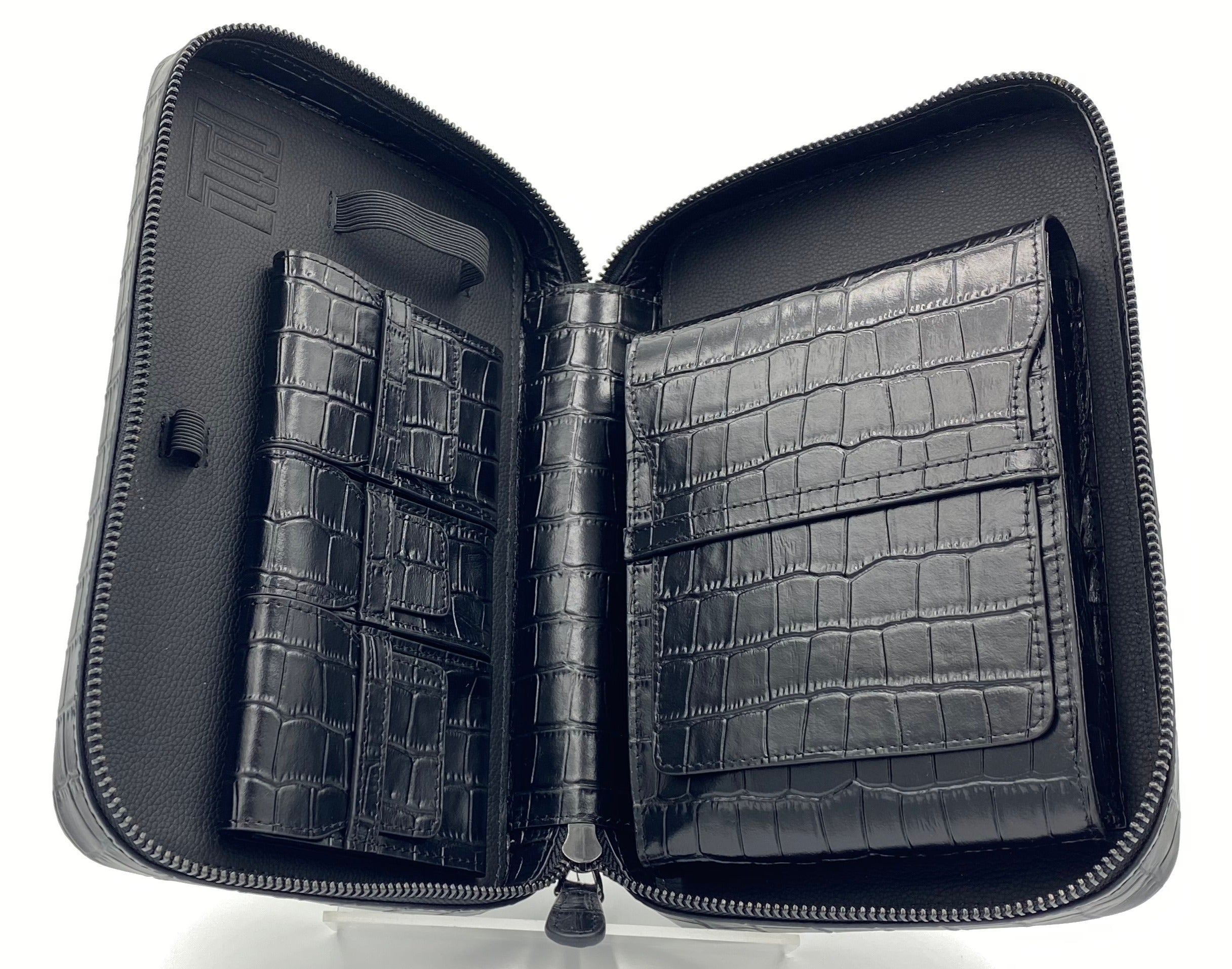 Project Carbon Leather Case Gator Black