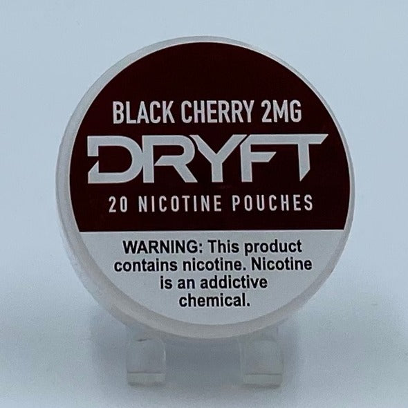 Dryft Black Cherry 2MG Nicotine Pouches