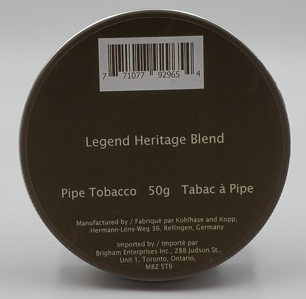 Legend Heritage 50gr Pipe Tobacco