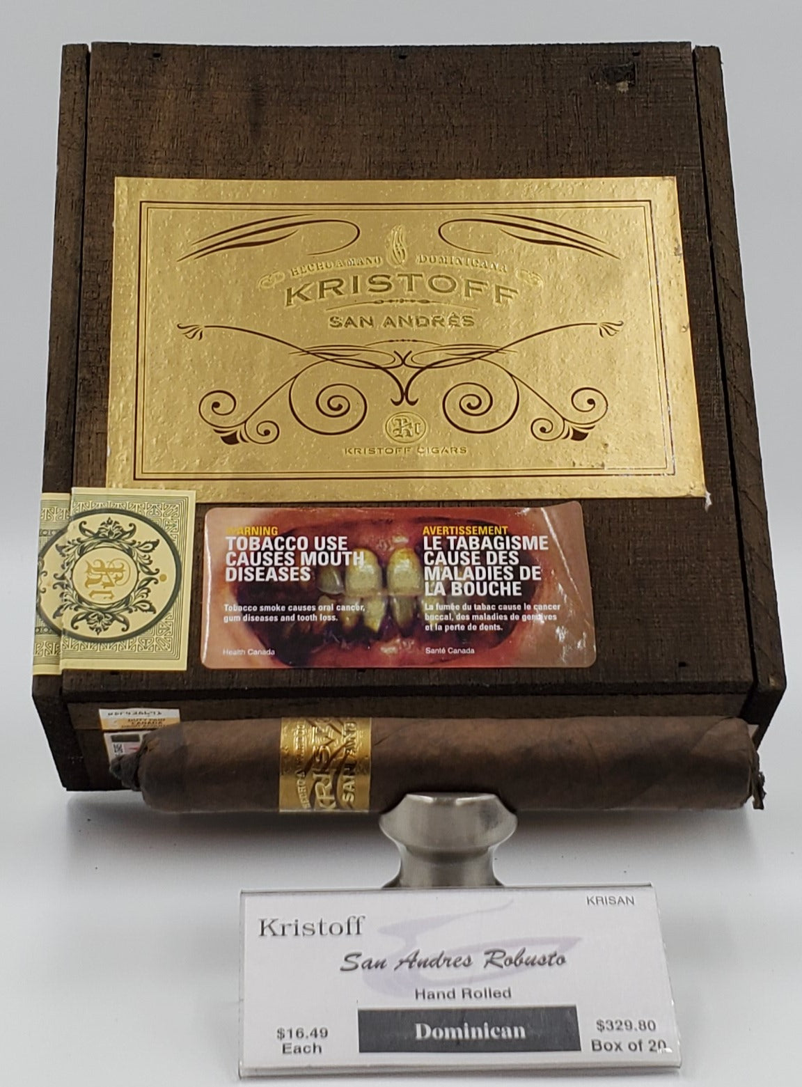 Kristoff San Andres Robusto