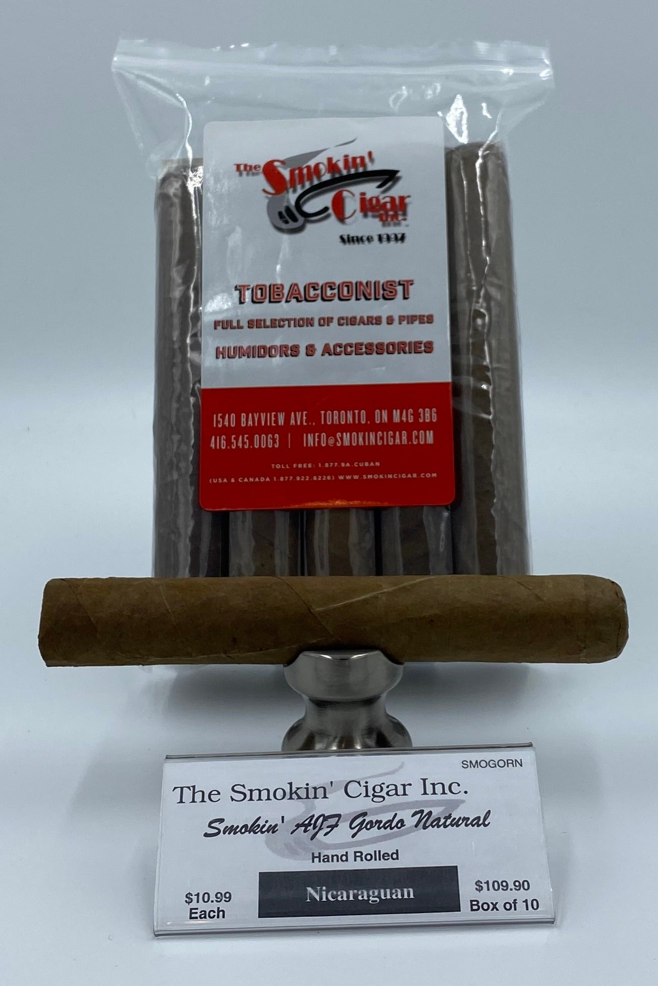 The Smokin' Cigar Inc. Smokin' AJF Gordo Natural