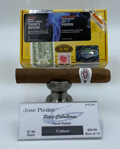 A BOX of 12...Jose Piedra Petit Caballeros for only $86.29..save 10%!...Sorry NOT eligible for FREE mail order shipping.