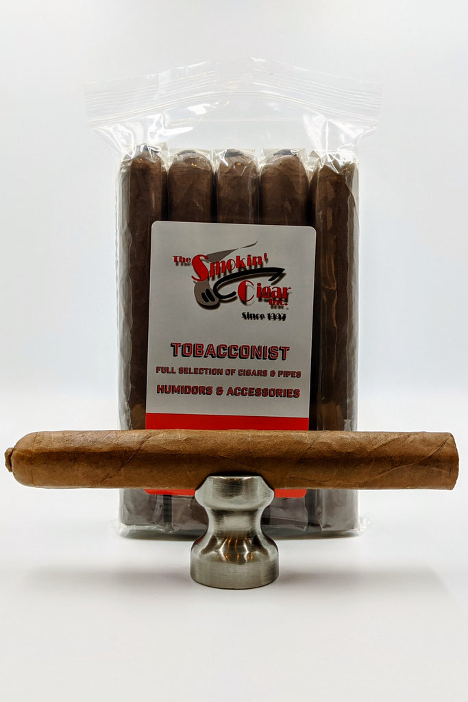 The Smokin' Cigar Inc. AJF Churchill Natural 7x60. Buy 10 and get one for a penny! - The Smokin' Cigar Inc. The Smokin' Cigar Inc. Cigar