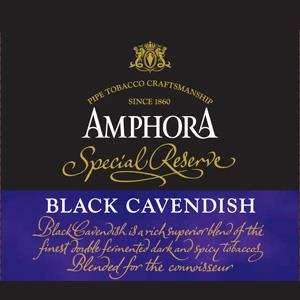 Amphora Dark Cavendish 50g Pipe Tobacco - The Smokin' Cigar Inc. Amphora Pipe Tobacco