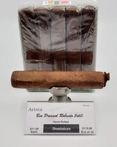 Arista Reserve Box Pressed Dominican Robusto Habano..SAVE 10%