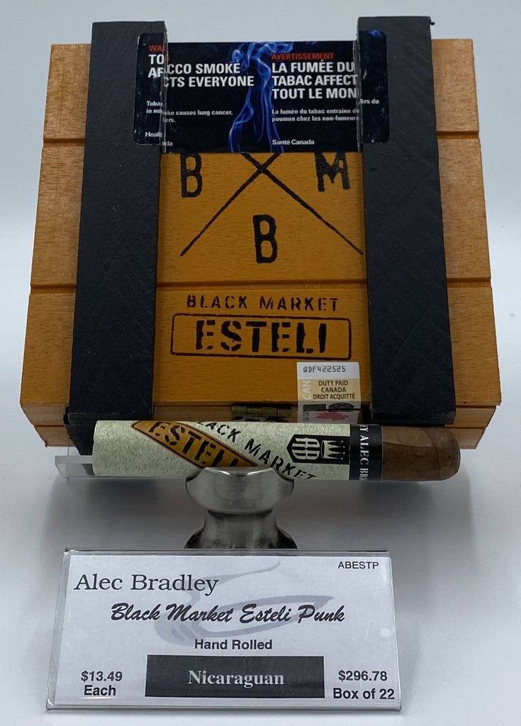 Alec Bradley Black Market Esteli Punk... SAVE 10% - The Smokin' Cigar Inc. Alec Bradley Cigar