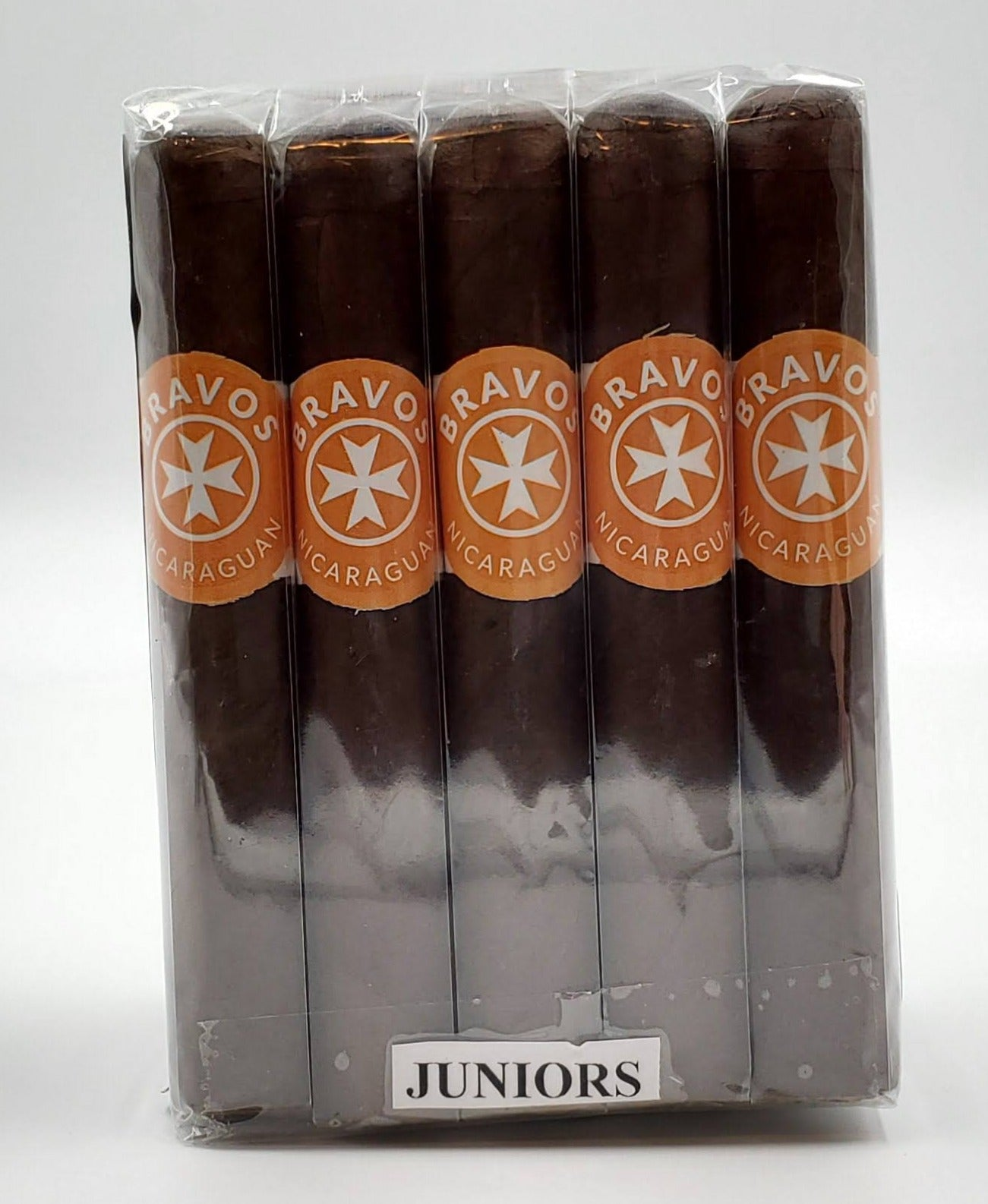 "20..A BUNDLE of 20 Bravos Junior Maduro.....4"" x 38...SAVE 10%...Sorry NOT eligible for FREE mail order shipping. - The Smokin' Cigar Inc. Bravos Cigar"