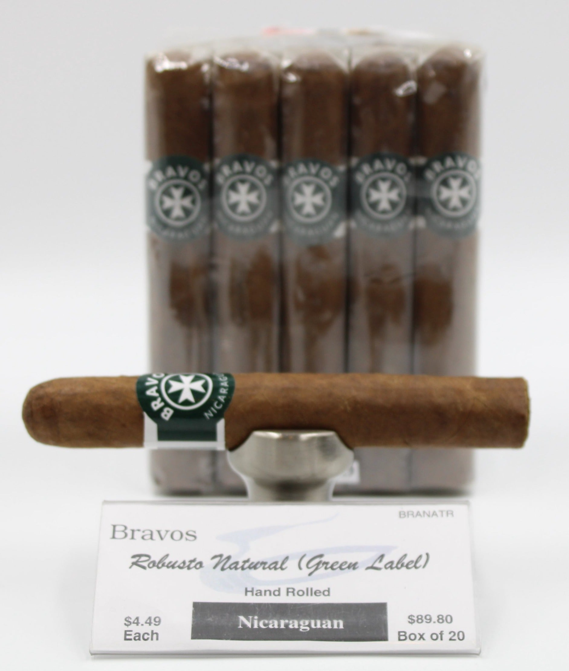 Bravos Robusto Habano Natural...SAVE 10%