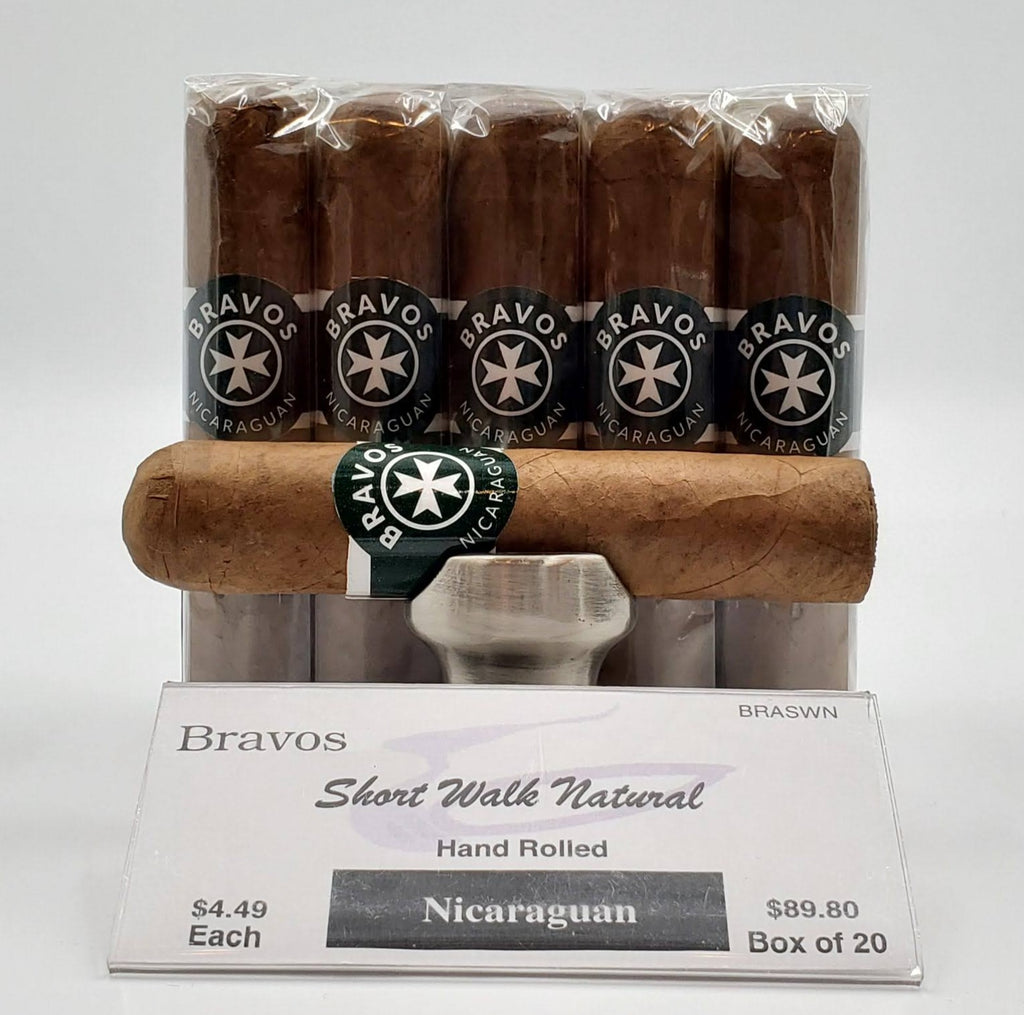 Bravos Short Walk Habano Natural...SAVE 10% - The Smokin' Cigar Inc. Bravos Cigar