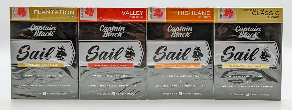 Captain Black Tipped Cigarillos. Click here to see collection!