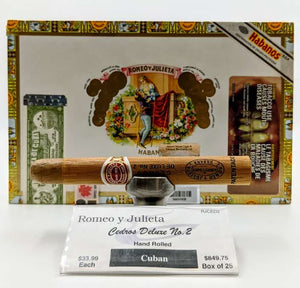 Romeo y Julieta Cedros Deluxe No. 2 - The Smokin' Cigar Inc. Romeo y Julieta Cigar