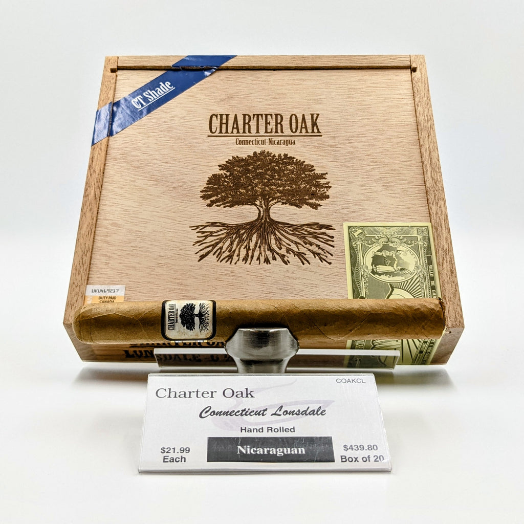 Charter Oak Connecticut Lonsdale - The Smokin' Cigar Inc. Foundation Cigar Co. Cigar