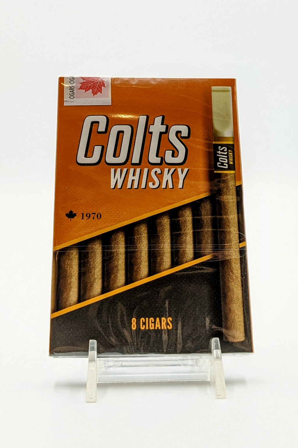 Colts Whisky Tipped Cigarillos 8 Pack