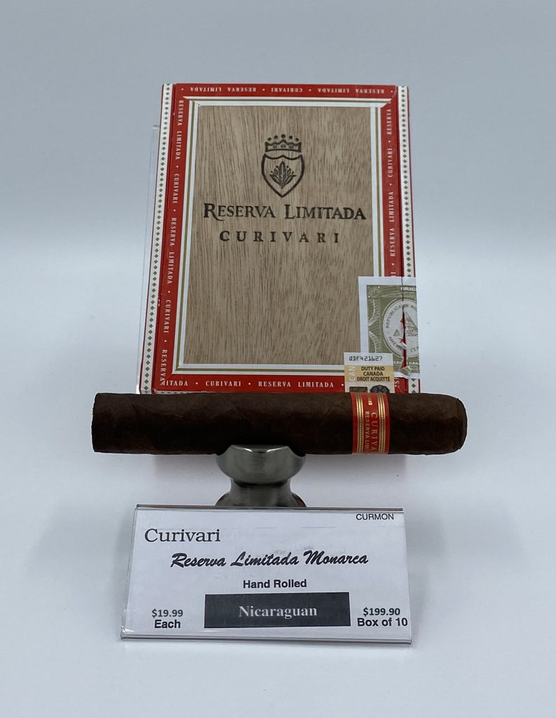 Curivari Reserva Limitada Monarca - The Smokin' Cigar Inc. Curivari Cigar