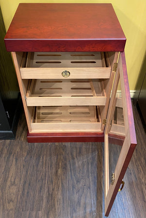 CIgar Tower Humidor 1200+CC Includes Cigar Oasis Plus