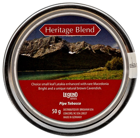 Legend Heritage Blend 50gr Pipe Tobacco - The Smokin' Cigar Inc. Legend Pipe Tobacco