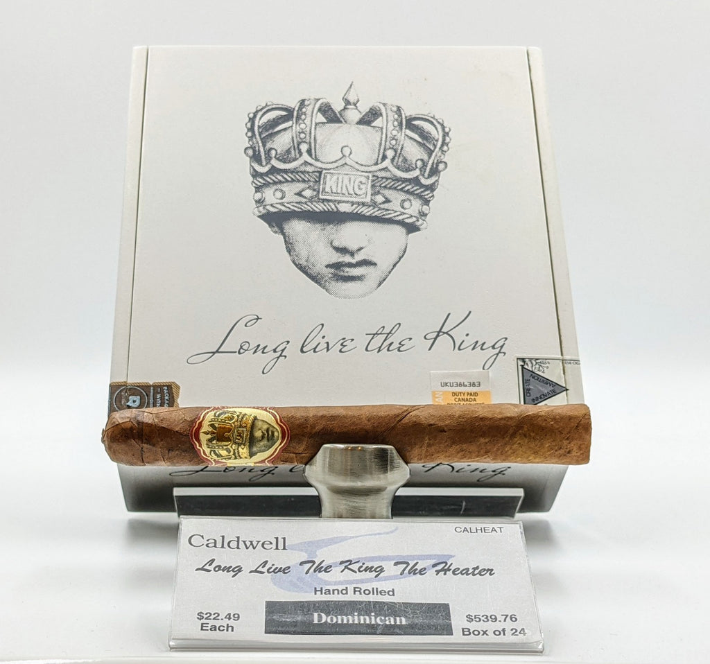 Caldwell Long Live the King: The Heater - The Smokin' Cigar Inc. Caldwell Cigar