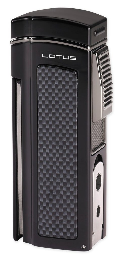 Lotus Dominator Quad Flame Table Lighter. Click here to see collection! - The Smokin' Cigar Inc. Lotus Lighters