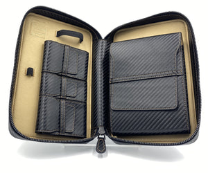 "Project Carbon Cigar Case ""Metallic Gold"""