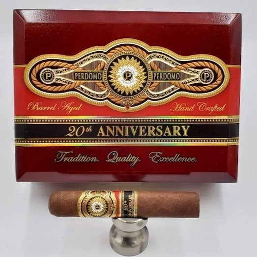 Perdomo 20th Anniversary Robusto Sungrown