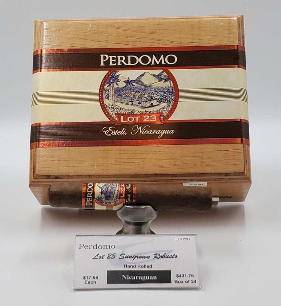Perdomo Lot 23 Sungrown Robusto - The Smokin' Cigar Inc. Perdomo Cigar