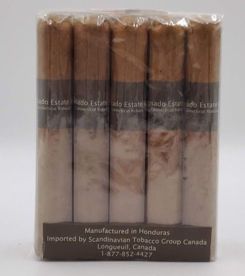 10...A Bundle of 10...Reposado 96 Estate Blend Robusto Connecticut... Sorry NOT eligible for FREE mail order shipping,Free Local Home Delivery available.