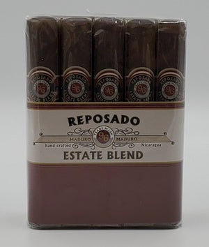 10...A Bundle of 10...Reposado 96 Estate Blend Robusto Maduro... Sorry NOT eligible for FREE mail order shipping,Free Local Home Delivery available.