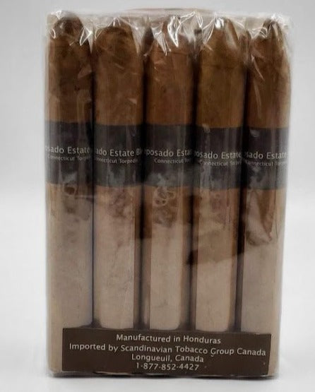 10...A Bundle of 10...Reposado 96 Estate Blend Torpedo Connecticut... Sorry NOT eligible for FREE mail order shipping,Free Local Home Delivery available.