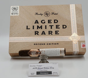 Rocky Patel Aged Limited Rare Second Edition Sixty