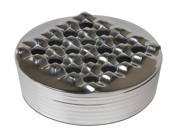 Round Grid Ashtray
