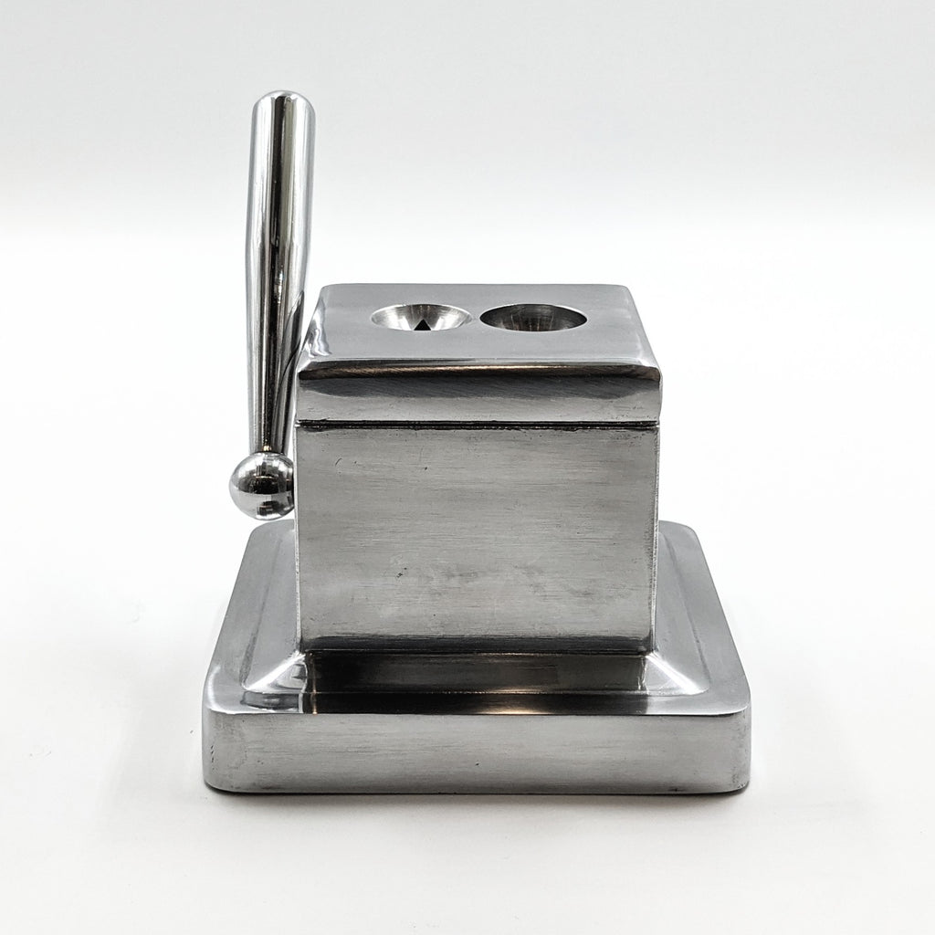 Dual Stainless Steel Table Cutter - The Smokin' Cigar Inc. The Smokin' Cigar Inc. Cutters