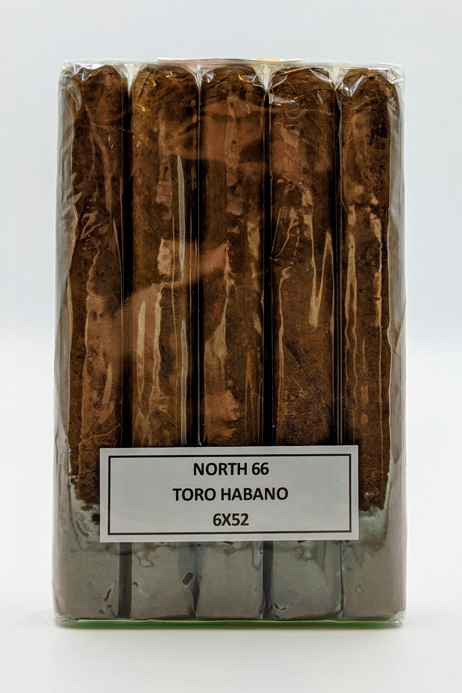 5 PACK of North 66 Toro Habano... SAVE 10%