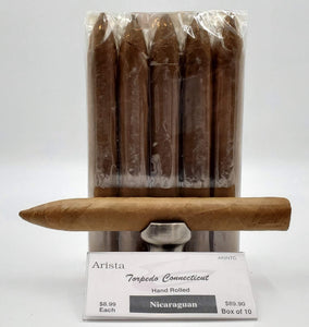 Arista Picadura Nicaraguan Connecticut Torpedo... SAVE 10% - The Smokin' Cigar Inc. Arista Cigar