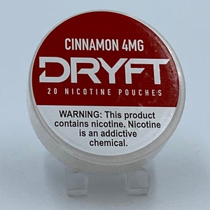 Dryft Cinnamon 4MG Nicotine Pouches