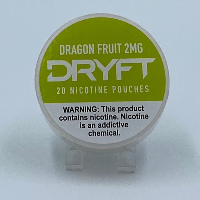 Dryft Dragon Fruit 2MG Nicotine Pouches