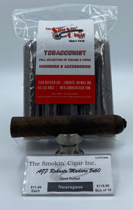 The Smokin' Cigar Inc. AJF Robusto Maduro 5x60