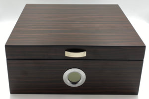 Weston Dark Walnut Humidor 50+ CC With Exterior Digital Hygrometer + Receive $41.98 in FREE Goods with Purchase!*